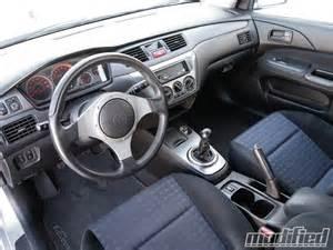 Mitsubishi Evo Interior 2003 Mitsubishi Evolution Viii Interior Photo 4