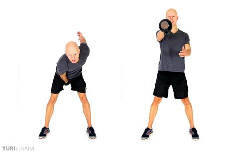 one arm swing 14 kettlebell exercises for weight loss free printable