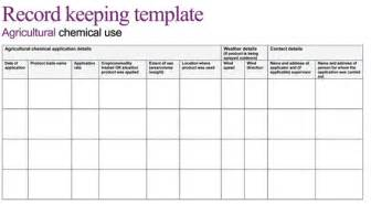 record keeping templates printable cattle record keeping forms