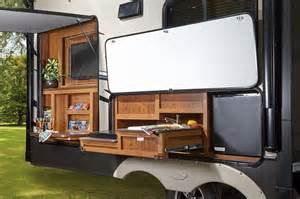 astounding jayco travel trailer outside kitchen with