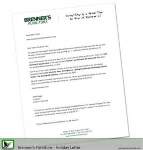 brenner s valued customer letter paradux media