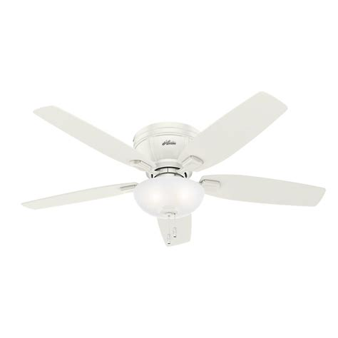 hunter avia 54 led indoor ceiling fan hunter bayview 54 in indoor outdoor white ceiling fan