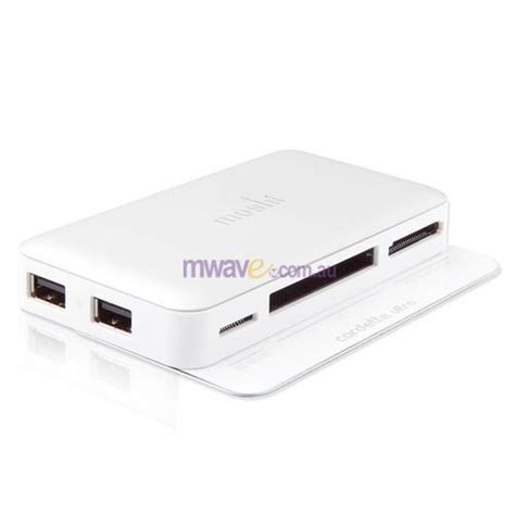 Moshi Cardette Memory Card Reader Review by Moshi Cardette Ultra Multi Card Reader Silver Mwave Au