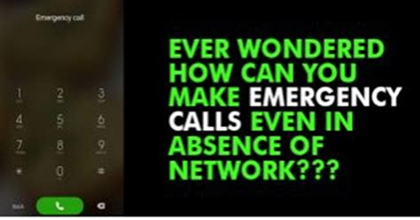Here S How You Can Make Emergency Calls Even When There