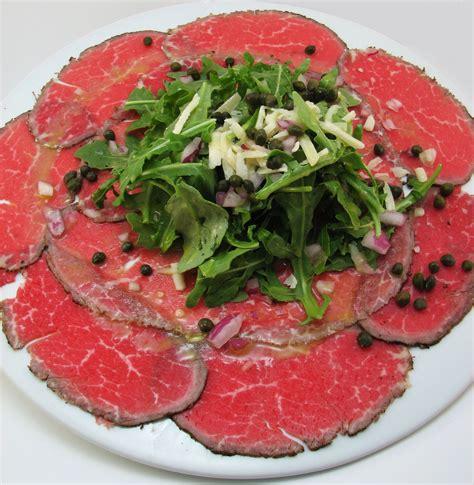 beef carpaccio recipe dishmaps