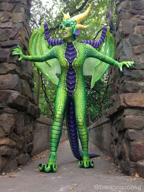 dragon costume  steps  pictures
