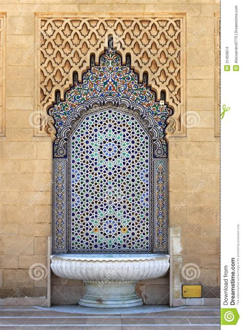 piastrelle tunisine moroccan with mosaic tiles stock photo image of