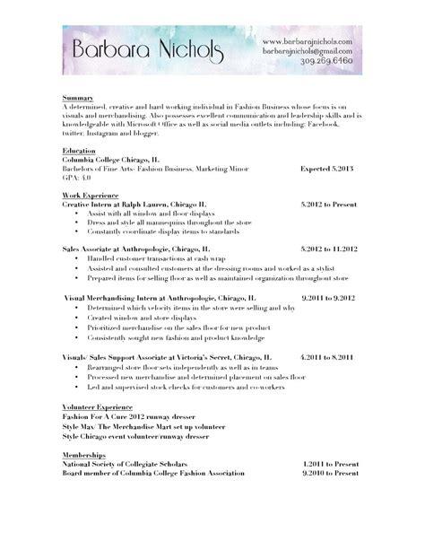 resume by barbara nichols issuu