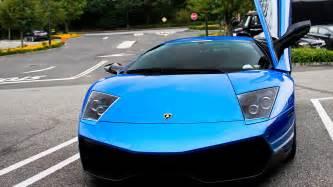 Blue Lamborghini Wallpaper Blue Lamborghini Car Wallpaper Hd Car Wallpapers