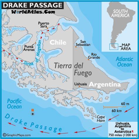 south america map passage passage map