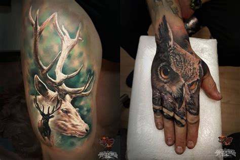 outdoorsman tattoos 6 outdoor themed ideas for the inked outdoorsmen