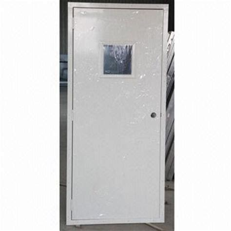 Exterior Steel Doors And Frames Modular Exterior Doors Steel Door Frames Electrostatic Powder Coating Flat Surface Metal