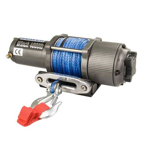 boat electric winch 12v synthetic rope 4wd boat electric winch 12v 1814kg buy