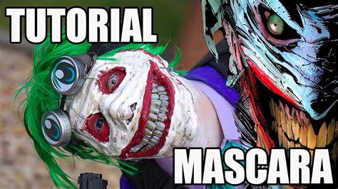 imagenes de joker new 52 tutorial mascara en yeso del joker youtube