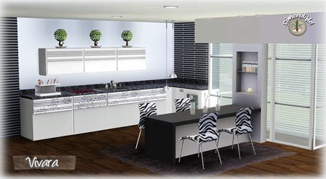 sims 3 kitchen ideas my sims 3 vivara kitchen by simcredible designs
