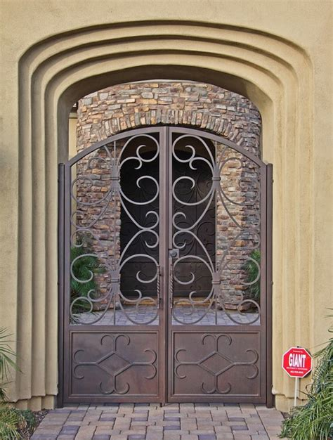 iron gate for front door custom iron gates by impression security doors