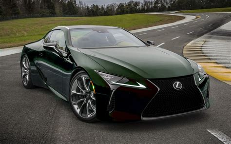 lexus black 2017 2017 lexus lc500 colors visualizer black chrome looks