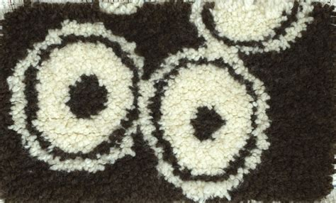 latch hook rug backing how to put a backing on a latch hook rug