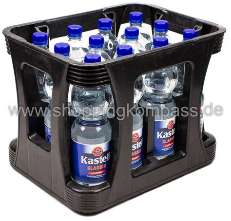 1 kasten wasser mineralwasser kastell mineralwasser klassik kasten 12 x
