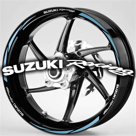Sticker Suzuki Motogp by Stickers Motogp Suzuki Racing Stripes