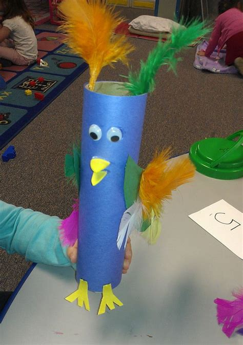 Paper Towel Crafts For Preschoolers - 1000 ideas about parrot craft on bird crafts