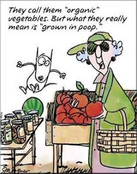 Gardening Jokes by Organic Vegetables Dump A Day