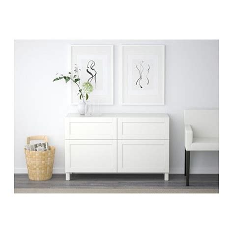 besta drawer best 197 storage combination w doors drawers hanviken white