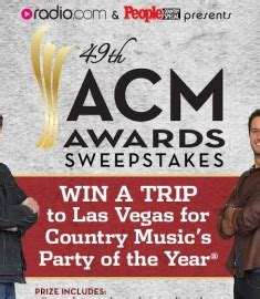 Country Music Sweepstakes - the academy of country music acm awards sweepstakes sweeps maniac