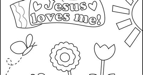 jesus loves me coloring page for preschoolers coloring sheet jesus loves me girl jpg sunday school