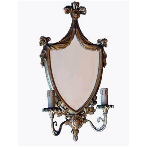 applique specchio applique dorata con specchio a due funzionante