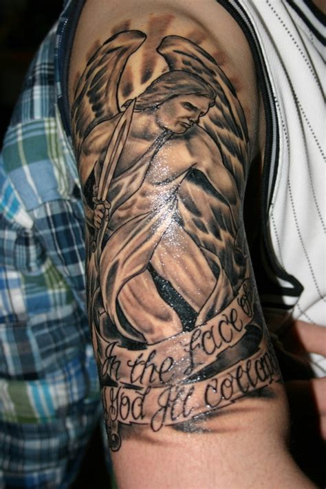 angel half sleeve tattoo tattoos page 52