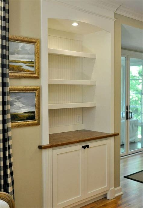 built in kitchen cabinet from door to built in cabinet transformation hometalk