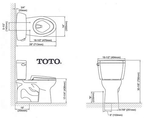 bathroom rough in dimensions american standard toilet dimensions