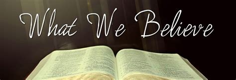 What We Believe what we believe 171 living grace ministries