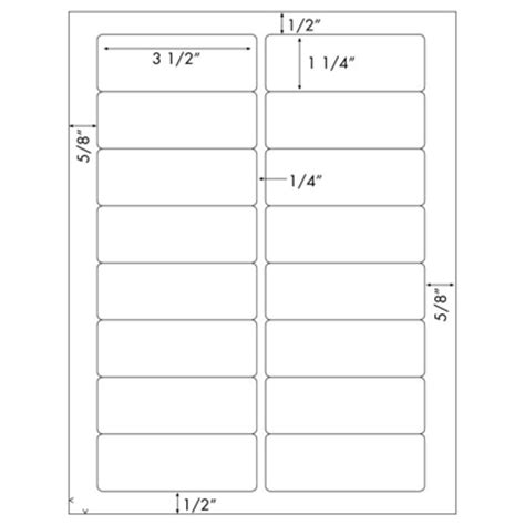 1 X 2 3 4 Label Template
