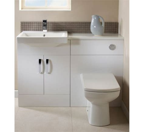 White Bathroom Furniture by Tavistock Courier Fitted Bathroom Furniture With Isocast