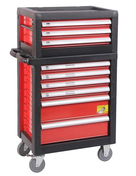 heavy duty combo box portable tool chest with 3drawer and