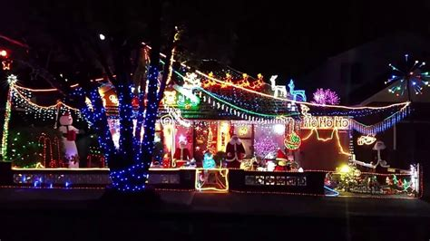 christmas lights australia 2015 best light display in sydney australia part 4 15 ho ho ho 21secs