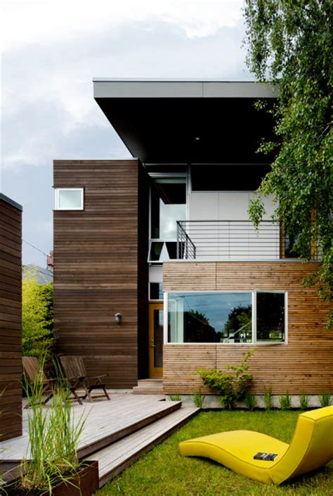 push pull residence contemporary exterior seattle