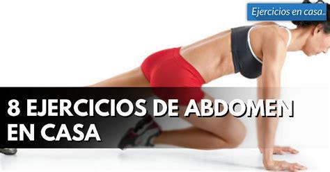 ejercicios para abdomen en casa 8 ejercicios abdominales en casa para fortalecer el core