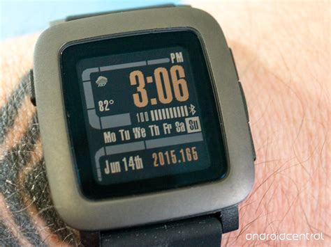 Pabble Time pebble time review android central