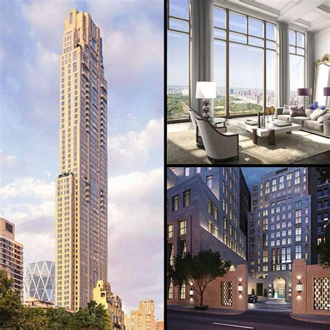 Villa Plans by Top Tens Ten Tallest Residential Towers In Nyc