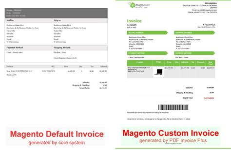 Where Are Customer Receipt Templates Magento by Magento Pdf Invoice Invoice Template Ideas