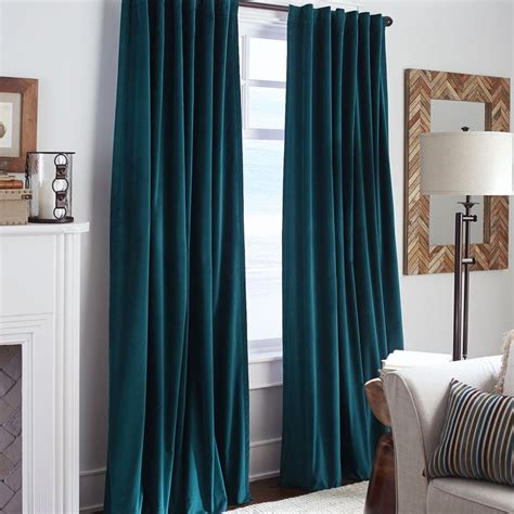 Blue Velour Curtains The 25 Best Velvet Curtains Ideas On Pinterest Blue Velvet Curtains Emerald Green Curtains