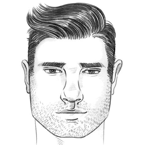 best hairstyle for square face guys best men s haircuts for your face shape 2018 men s