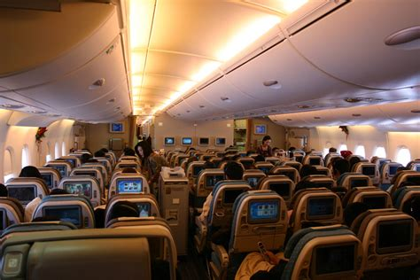 Emirates Airlines Inside Cabin View by Airbus A380 Quot Superjumbo Quot Aircraft History Specification