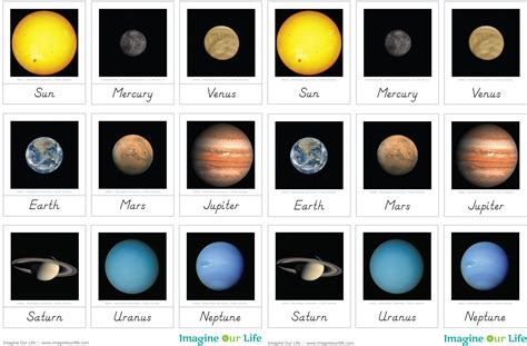 solar system fact cards template solar system unit with 3 part cards imagine our