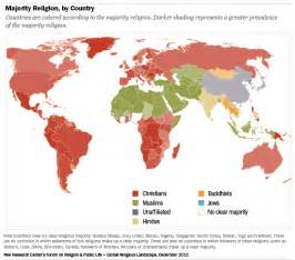 christian map the global religious landscape pew research center