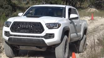 Toyota Tacoma Pictures Road Drive In The 2017 Toyota Tacoma Trd Pro