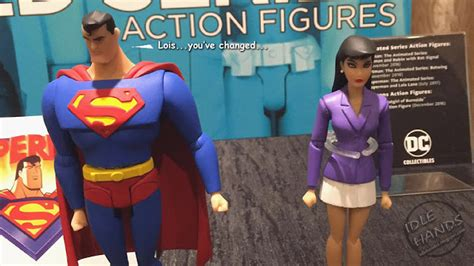 Dc Comics Collectibles Superman Lois 2 Pack Animated Series idle sdcc 2016 dc collectibles new bombshells